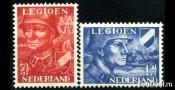 Neiderlande Нидерланды Mi 402-403 **/MNH OG Добровольческий Легион, серия 2 марки